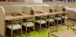 子連れ 高山市 食事 フードコート 椅子