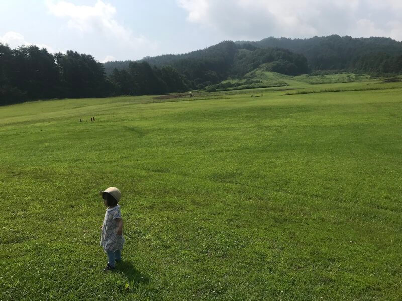 原山市民公園の広大な敷地